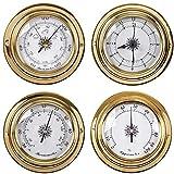 CLCTOIK Barómetro meteorológico Higrómetro de Temperatura Barómetro de Humedad