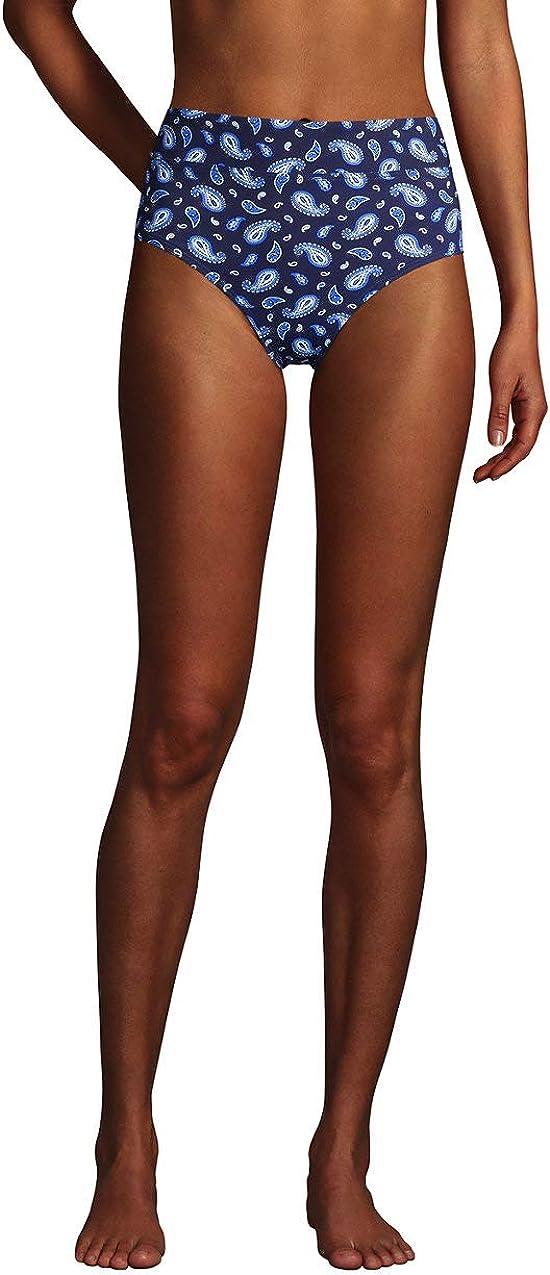 Lands' End Women's High Waisted Bikini Bottoms