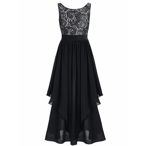 7c8156a70f39 iiniim Summer Boho Women Long Maxi Evening Party Skirt Beach Sundress Chiffon  Lace Plus Size Dresses