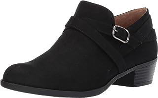 حذاء بكعب طويل حتى الكاحل للنساء من LifeStride, (بلاك مايكرو سويد), 37 EU Wide