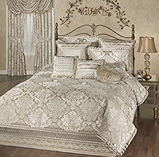 Touch of Class Luminous Comforter Set Champagne Gold
