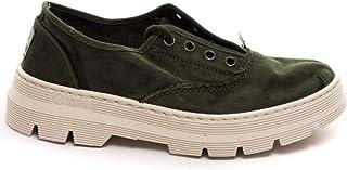 Natural World 7102 Kaki Chaussures pour femme Vert