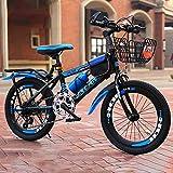 GAYBJ Children bike kid bike Premium Safety Sport Kids Bike Bicycle for age 7-15 year old children 18/20/22 Inch Cruiser Edition for boy girls,H,20 inch