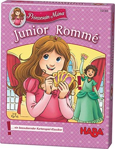 Haba 302365 - Prinzessin Mina Junior-Romme, Kartenspiel