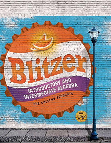 Introductory and Intermediate Algebra for College Students Access Card Package (5th Edition) (Blitzer Developmental Alge
