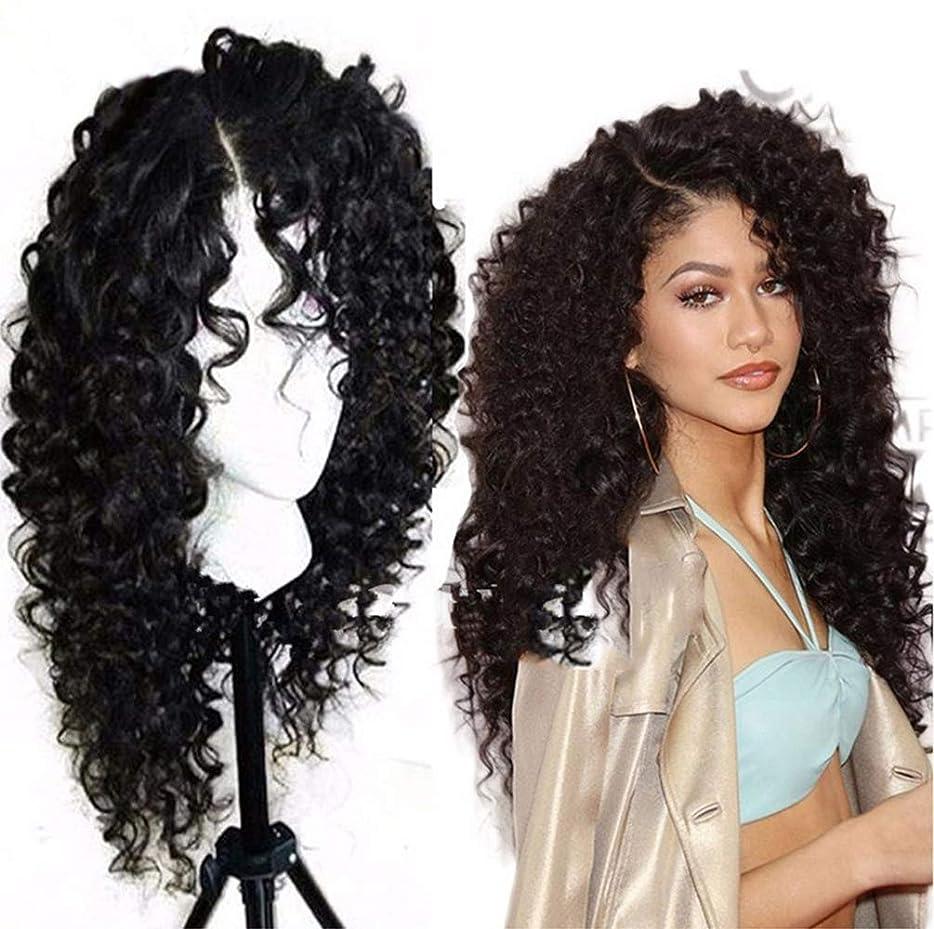 メロディー鬼ごっこファーザーファージュ女性ブラジルのRemyディープウェーブヘアウィッグ130%密度レースフロント人間の髪の毛のかつら