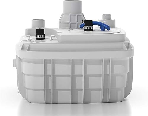 new arrival Saniflo 049 Sanicubic 1 wholesale Heavy Duty Vortex System, outlet online sale White outlet online sale