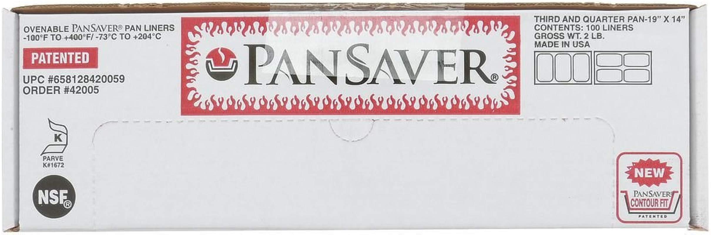 PanSaver Monolyn 1 3 Size Steam Table Pan Liner Clear Plastic 4 6 D 100 Per Case