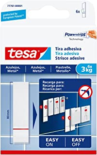 Tesa 77761–00001–00–Bandes adhésives pour carrelage et métal (3kg)