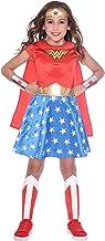 Disfraz de niña Wonder Woman Maravilla clásica para niñas (Edad: 4-6 años)