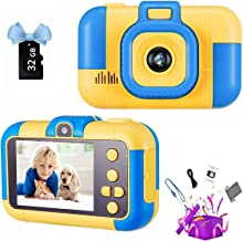 Sponsored Ad - SunChen Kids Camera,2.4 Inch 1080p Dual Lens Digital Camera for Kids Birthday Gifts for Boys,Girls Age 3-10...