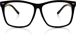 Fake Glasses Big Frame Clear For Women Men Fashion...