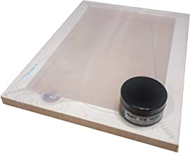 Hunt The Moon Screen Printing Frame and Ink Kit, Wooden, Large A3 43t