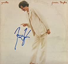 JAMES TAYLOR SIGNED AUTOGRAPH RECORD, ALBUM, VINYL - GORILLA - LEGENDARY FOLK COUNTRY ROCK SINGER SONGWRITER - ROCK AND ROLL HALL OF FAME - CARLY SIMON - SWEET BABY JAMES, MUD SLIDE SLIM AND THE BLUE HORIZON, ONE MAN DOG, WALKING MAN, JT, IN THE POCKET, FLAG, DAD LOVES HIS WORK, NEW MOON SHINE, HOURGLASS, OCTOBER ROAD, A CHRISTMAS ALBUM, COVERS, BEFORE THIS WORLD, AMERICAN STANDARD, NEVER DIE YOUNG, THAT'S WHY I'M HERE