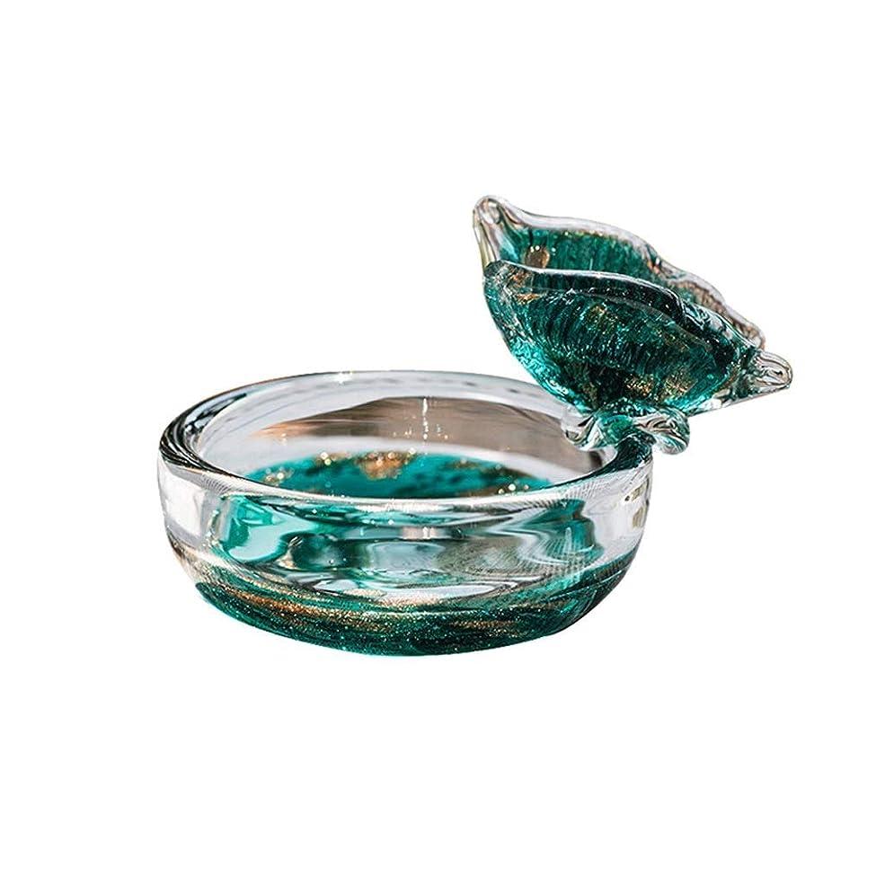 契約した過半数匿名ZK-KA 灰皿 ノベルティ灰皿ガラスのファッションシンプルなホームレトロパーソナリティリビングルームホームデコレーション、ホームオフィス装飾用デスクトップ喫煙灰皿、 シガレット