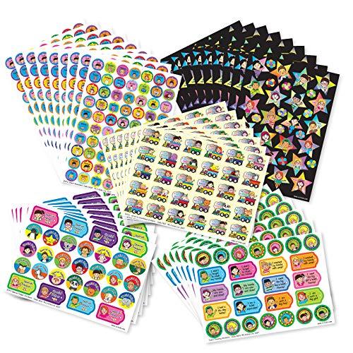C.S. Kids Bumper Pack van EYFS Stickers (Pak van 1549)