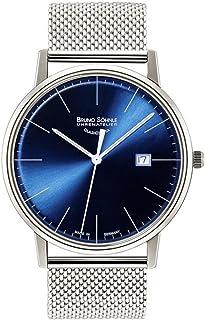 Bruno Soehnle - Reloj Analógico para Hombre de Cuarzo con Correa en Acero Inoxidable 17-13175-340