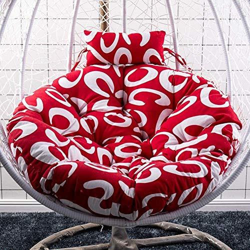 BESTPRVA Colgando Cojín silla de la cesta, rondando huevo Presidente amortiguador de la hamaca, silla de oscilación del amortiguador de asiento, amortiguador del asiento futón, una silla cojín del sof