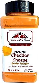 Cheddar-Käsepulver 300 Gramm Einfacher Bestandteil und wohlschmeckendes Topping von Hoosier Hill Farm