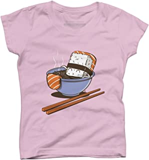 JACUZZI FOOD Girls Youth Graphic T Shirt - Design By Humans