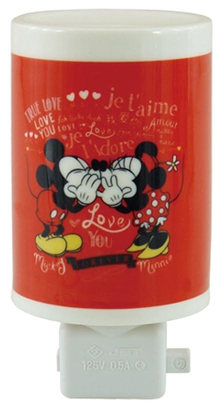 奇妙な首フライカイトディズニー セラミックアロマコンセントランプ ミッキー&ミニー