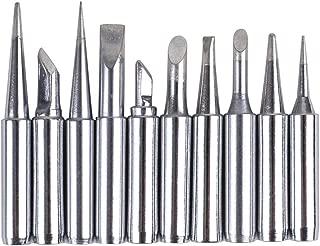 TECKE 10X 900M Soldering Iron Tips for HAKKO 936,937,907 Soldering Station
