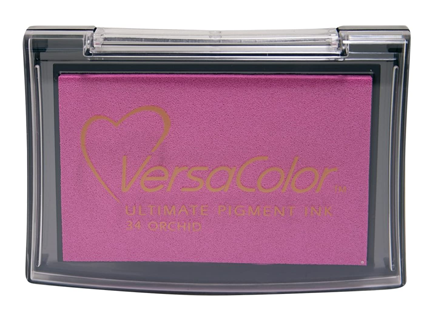 Tsukineko Full-Size VersaColor Ultimate Pigment Inkpad, Orchid