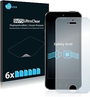 0dbccecbf01 Savvies Protector de Pantalla Compatible con iPhone 5 / 5S / 5C / SE [6