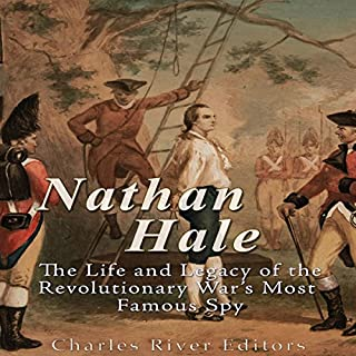 Nathan Hale audiobook cover art