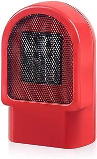 ZRSA Calefactor Cerámico Termoventilador Mini Ventilador Eléctrico Calefactor Eléctrico bajo Consumo Portátil Personal para Cuarto Baño Oficina-Blanco