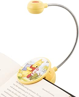 WITHit Disney Clip On Book Light – Winnie The Pooh & Piglet – LED Reading Light with Clip for Books/eBooks, Dimmable, Reduced Glare, Portable & Lightweight Bookmark Light for Kids, Batteries Included