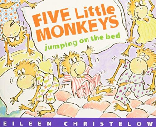 Five Little Monkeys Jumping on the Bed (Book & CD) (A Five Little Monkeys Story)の詳細を見る
