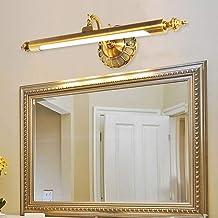 LIANGANAN LED Spiegel Koplampen Badkamer Spiegel Kast Licht/Eenvoudige Retro Dressing Tafellamp/Wandlamp (Kleur: Metallic,...