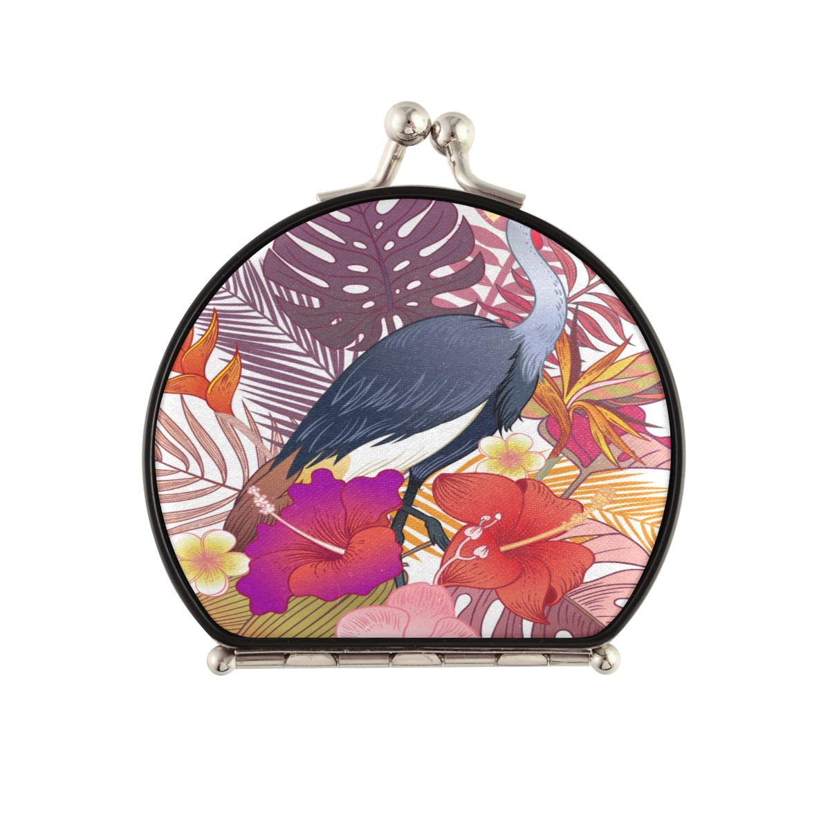 Magnifying Compact Cosmetic Mirror Afr Tropical Now Las Vegas Mall free shipping Beautiful Exotic