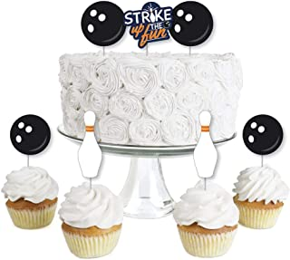 Best bowling themed cupcake toppers Reviews