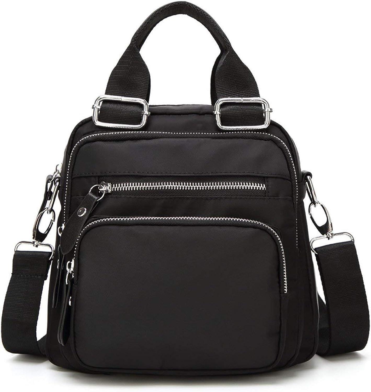 Hulday Handtasche damen S Bag Printing Schultasche Oxford Cloth Rucksack Multifunktions Einfacher Stil Rucksack Rucksack Taschen Damen Mnner Handgepaeck, (Farbe   Colour, Größe   One Größe)