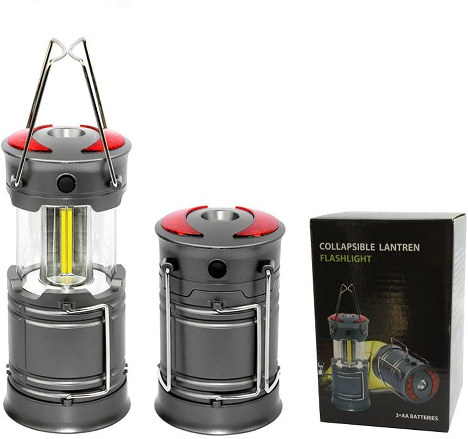BaiYouDa LED Camping Lantern Flashlights for Backpacking & Camping Equipment Lights  Best Gift Ideas