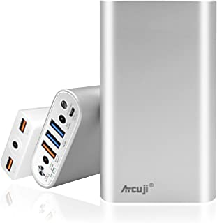 Atcuji 26800mAh Power Bank + Power Supply with 130W Power Delivery for Apple MacBook Pro Portable Charger iPhone iPad Samsung Galaxy External Battery Huawei Google Pixel LG and More (TSA Approved)