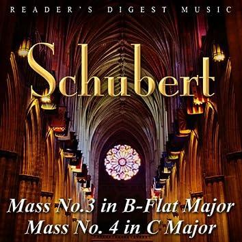 Reader's Digest Music: Schubert: Mass No. 3 In B-Flat Major and Mass No. 4 In C Major
