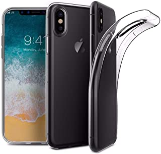 Apple IPhone X/XS (5.8) TPU Silicone Soft Thin Back Case For IPhone X/XS Clear Cover By Muzz