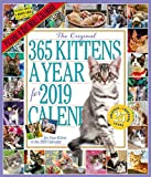 The 365 Kittens-A-Year Picture-A-Day Wall Calendar 2019