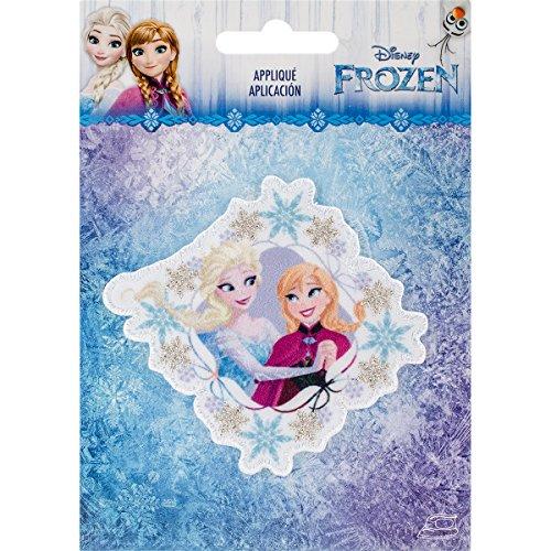 Simplicity Disney Frozen Sisters Applique, Polyester, Multi-Colour, 10.34 x 14.22 x 0.23 cm