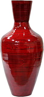 Best red bamboo vase Reviews