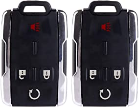 ECCPP Replacement fit for Keyless Entry Remote Key Fob Chevy/GMC Series M3N40821302 (Pack of 2)