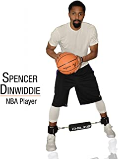D-Slide Basketball Training Equipment aids in Perfecting The Defensive Slide | Develops lateral Quickness Including Shooting and Dribbling Skills.