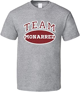 Team Monarrez Tee Funny Last Name Family Reunion Group T Shirt