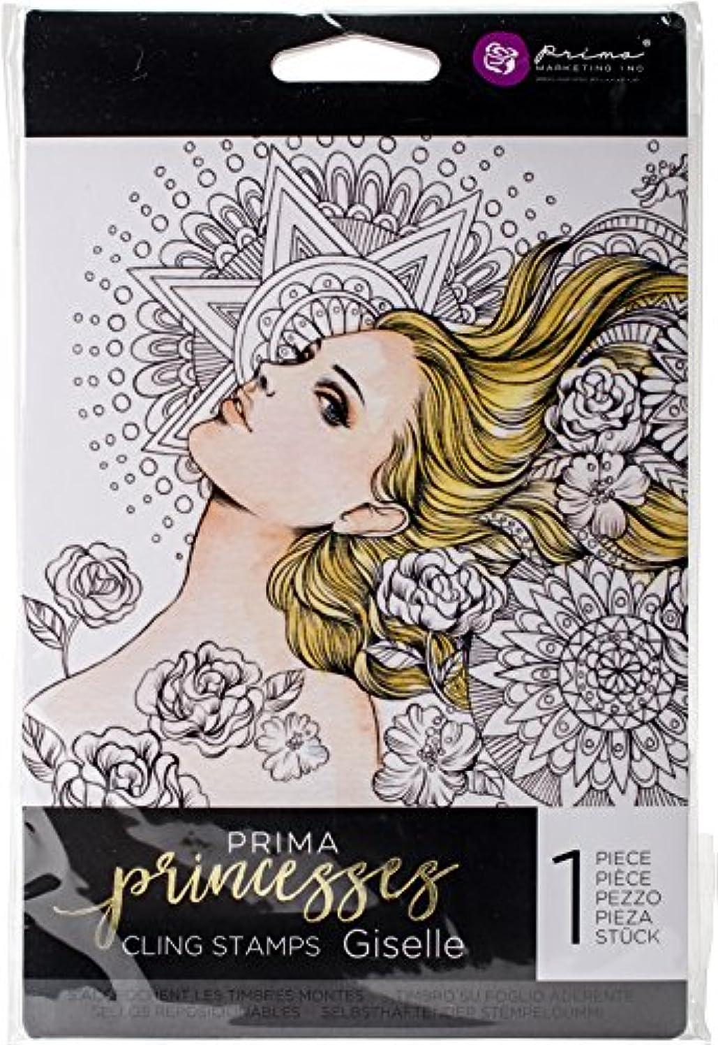 Prima Marketing Prima Princess Stamp - Giselle