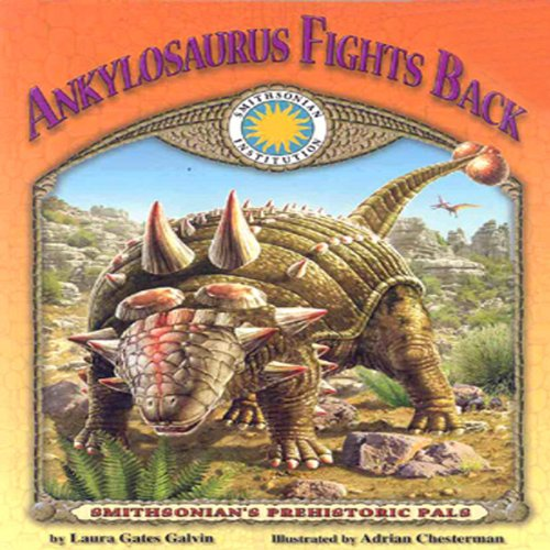 Ankylosaurus Fights Back audiobook cover art