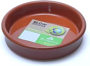 Graupera スペイン製 テラコッタ 陶器製 カスエラ 土鍋 14cm 1人用 プロ用 オーブン 直火可
