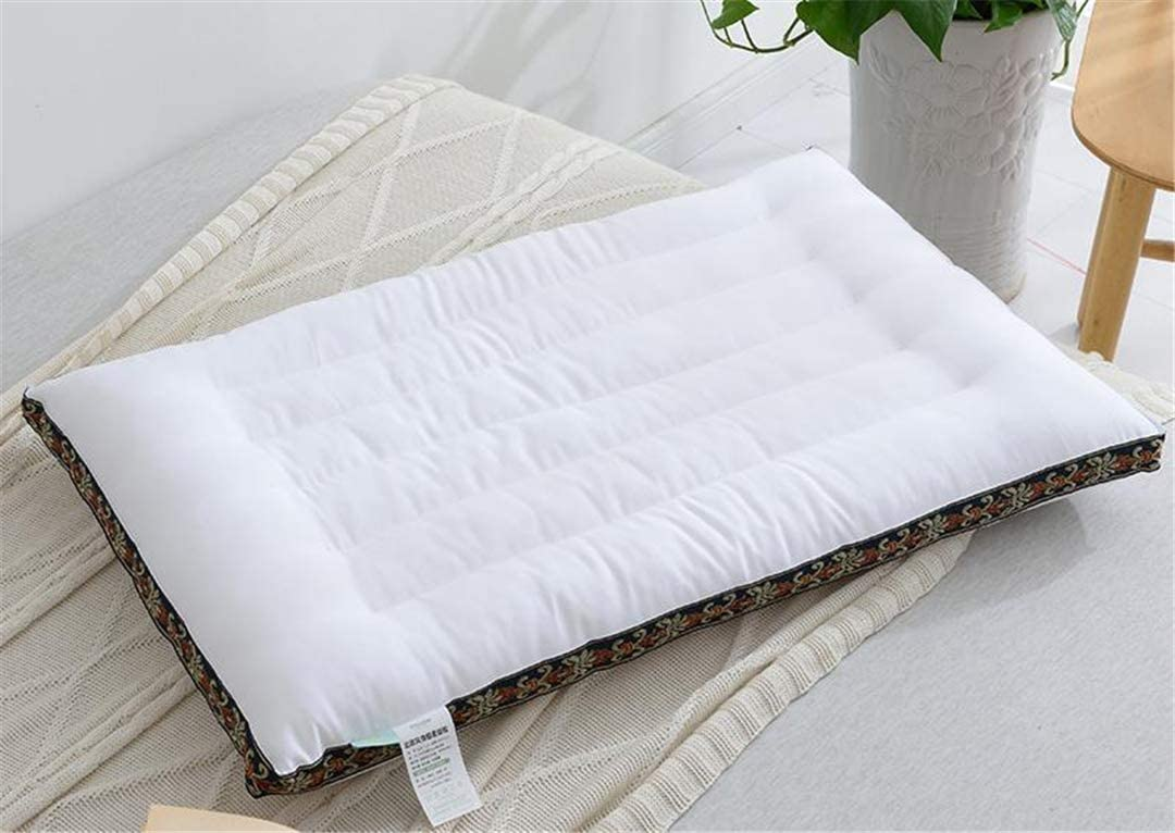 Low Pillow Core Cervical Low Pillow Student Adult Single Cotton Soft Ultra-Thin Flat Washable Child Pillow